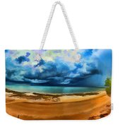 Tropical Seasonal Monsoon Rain V2 Weekender Tote Bag