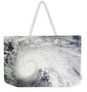 Tropical Storm Ida In The Caribbean Sea Weekender Tote Bag