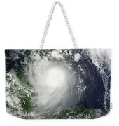 Tropical Storm Karl Over The Yucatan Weekender Tote Bag