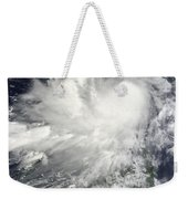 Tropical Storm Nock-ten Weekender Tote Bag