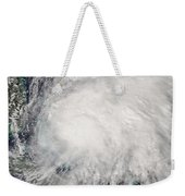 Tropical Storm Noel Over The Bahamas Weekender Tote Bag