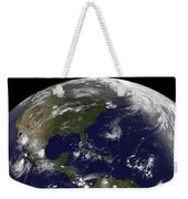 Tropical Storms On Planet Earth Weekender Tote Bag