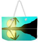 Tropical Sunrise Number 5 Weekender Tote Bag