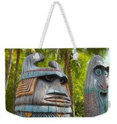 Tropical Tikis Weekender Tote Bag