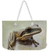 Tropical Tree Frog II Weekender Tote Bag