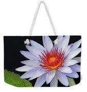 Tropical Waterlily Weekender Tote Bag