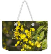 Tropical Yellow Flowers Weekender Tote Bag