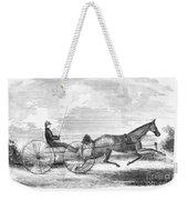 Trotting Horse, 1853 Weekender Tote Bag
