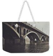 Troubled Water Weekender Tote Bag