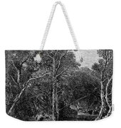 Trout Fishing, 1867 Weekender Tote Bag by Granger