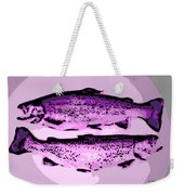 Trout For Lunch Weekender Tote Bag