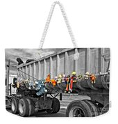 Truck And Dolls With Selective Coloring Weekender Tote Bag