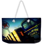Truck On Route 66 Weekender Tote Bag