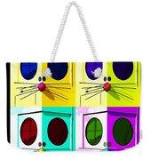 Truly Nolen Rat In Quad Colors Weekender Tote Bag