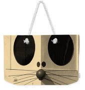 Truly Nolen Rat In Sepia Weekender Tote Bag