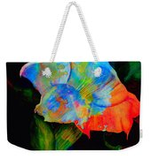Trumpet With Watercolor Overlay Weekender Tote Bag