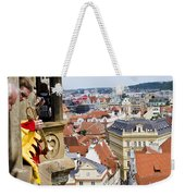 Trumpeter - Prague Old Town Square Weekender Tote Bag