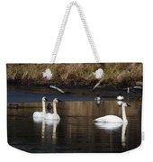 Trumpeter Swans Weekender Tote Bag