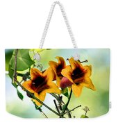 Trumpeting Spring Weekender Tote Bag