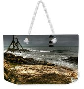 Trwyn Du Lighthouse Weekender Tote Bag