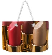 Tubes Of Lipstick Weekender Tote Bag