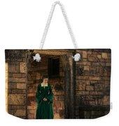 Tudor Lady In Doorway Weekender Tote Bag