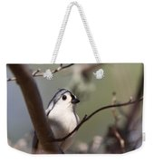 Tufted Titmouse - The Bomb Weekender Tote Bag