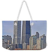 Tugboat On The Chicago River Weekender Tote Bag