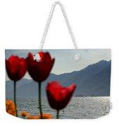 Tulip And Lake Weekender Tote Bag