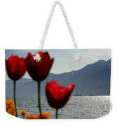 Tulip And Lake Weekender Tote Bag