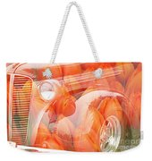 Tulip Car Abstract Weekender Tote Bag
