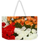 Tulip Flowers Festival Art Prints Floral Baslee Weekender Tote Bag
