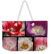 Tulip Sampler Weekender Tote Bag