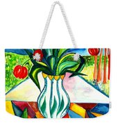 Tulips And A Pear Weekender Tote Bag