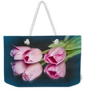 Tulips And Reflections Weekender Tote Bag