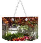 Tulips By Dappled Fence Weekender Tote Bag