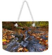 Tumbling Leaves Weekender Tote Bag