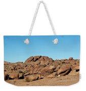 Tumbling Rocks Of Gold Butte Weekender Tote Bag