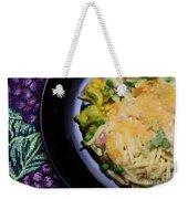 Tuna Noodle Casserole Weekender Tote Bag