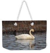 Tundra Swan Weekender Tote Bag