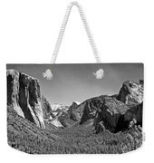 Tunnel View  Weekender Tote Bag