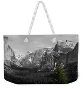 Tunnel View Selective Color Weekender Tote Bag