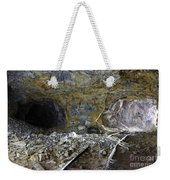 Tunnel With Abandoned Railtracks Weekender Tote Bag