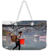 Tuojiang River In Fenghuang Weekender Tote Bag