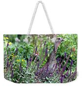 Turkey Flowers Weekender Tote Bag