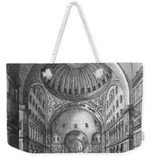 Turkey: Hagia Sophia, 1680 Weekender Tote Bag