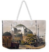 Turkey: Hagia Sophia, 1852 Weekender Tote Bag