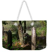 Turkish Cemetery In Rural Mugla Province Weekender Tote Bag