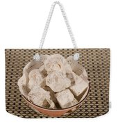 Turkish Delight In A Bowl Weekender Tote Bag