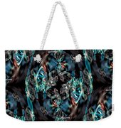 Turquoise Crystals Weekender Tote Bag
